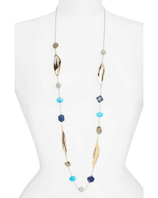 Alexis Bittar | Metallic Long Beaded Necklace | Lyst