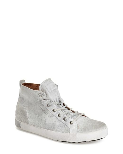 Blackstone | Gray 'jm 02' High Top Sneaker for Men | Lyst
