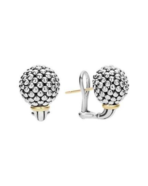 Lagos | Metallic 'caviar Forever' Stud Earrings | Lyst