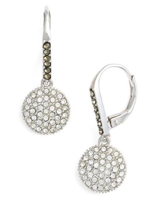 Judith Jack | Metallic Round Drop Earrings | Lyst