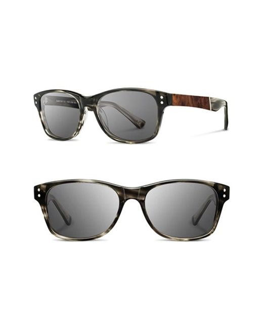 Shwood | Gray 'cannon' 54mm Sunglasses for Men | Lyst