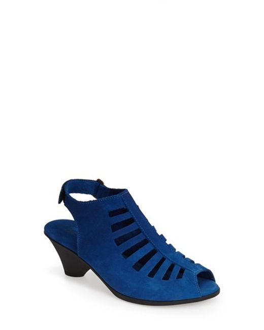 Arche | Blue 'exor' Sandal | Lyst