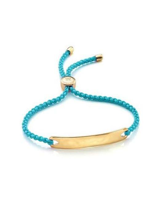 Monica Vinader | Metallic 'havana' Friendship Bracelet | Lyst