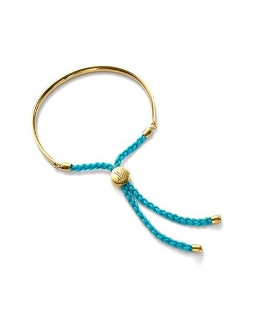 Monica Vinader | Blue 'fiji' Friendship Bracelet | Lyst