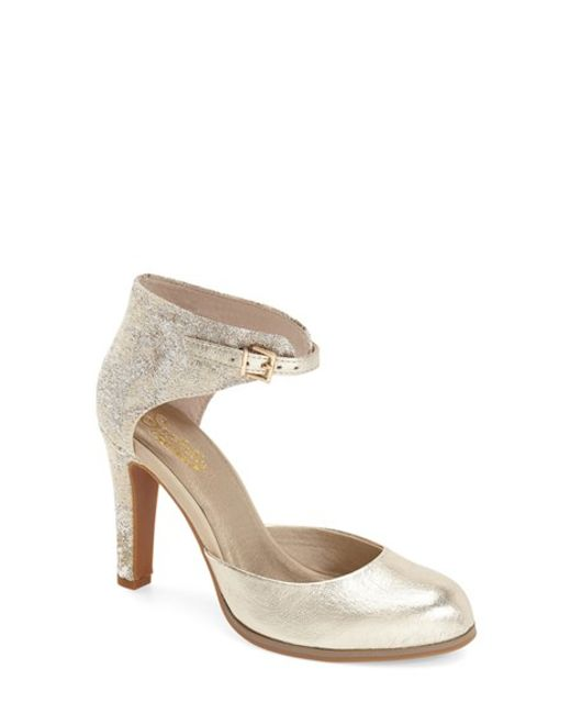 Seychelles | Metallic 'hopeful' Ankle Strap Pump | Lyst