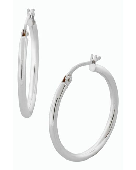 Bony Levy | Metallic 14k Gold Hoop Earrings (nordstrom Exclusive) | Lyst