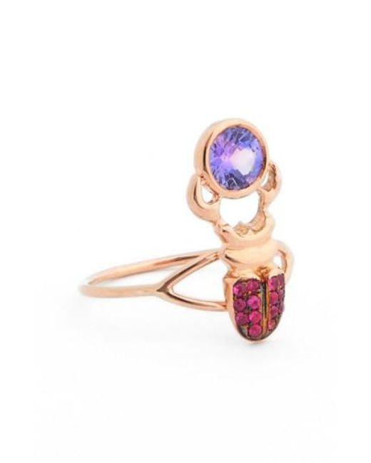 Daniela Villegas | Pink 'khepri' Sapphire Ring | Lyst