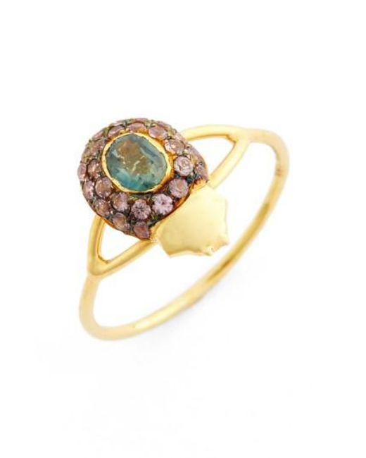 Daniela Villegas | Yellow 'maat' Sapphire Ring | Lyst