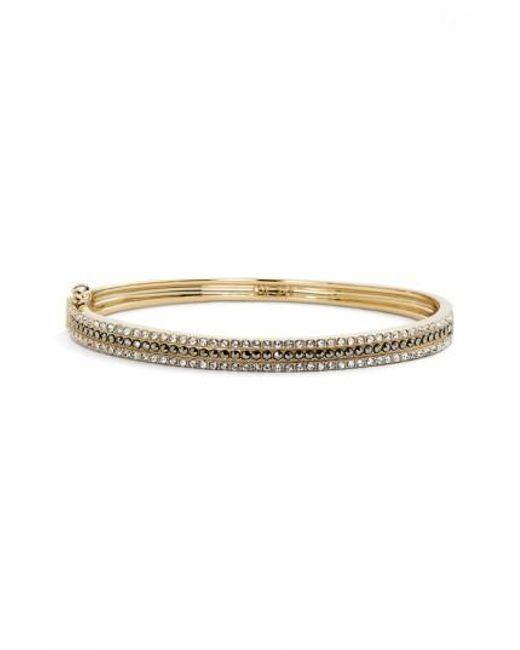 Judith Jack | Metallic Three Row Bangle Bracelet | Lyst