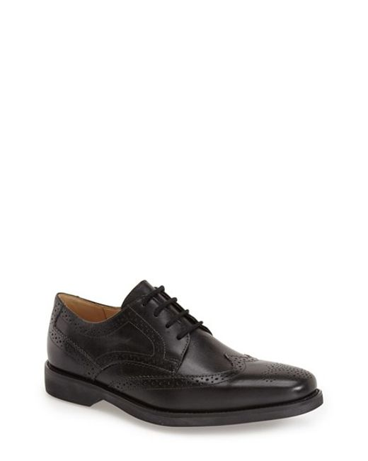 Anatomic & Co | Black Tucano Wingtip for Men | Lyst