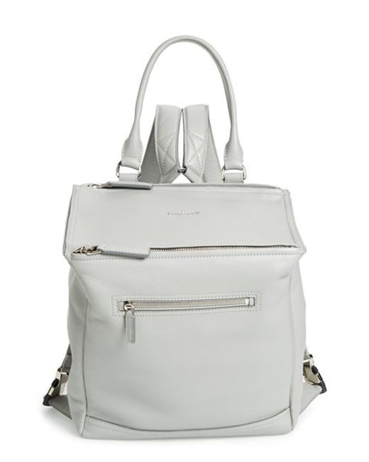Givenchy | White 'pandora' Waxy Leather Backpack | Lyst