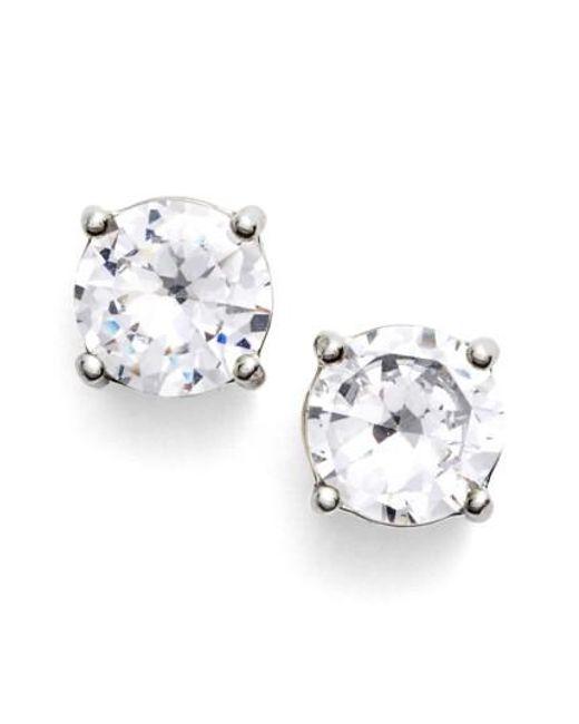 Givenchy | Metallic Crystal Stud Earrings | Lyst