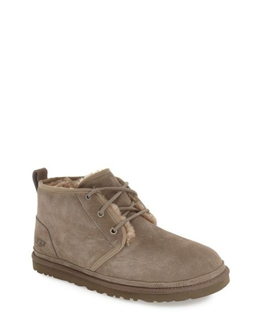 Ugg Ugg Neumel Chukka Boot In Brown For Men Lyst