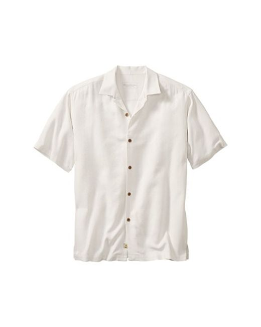Tommy Bahama | White Lei Riviera Jacquard Original Fit Silk Camp Shirt for Men | Lyst