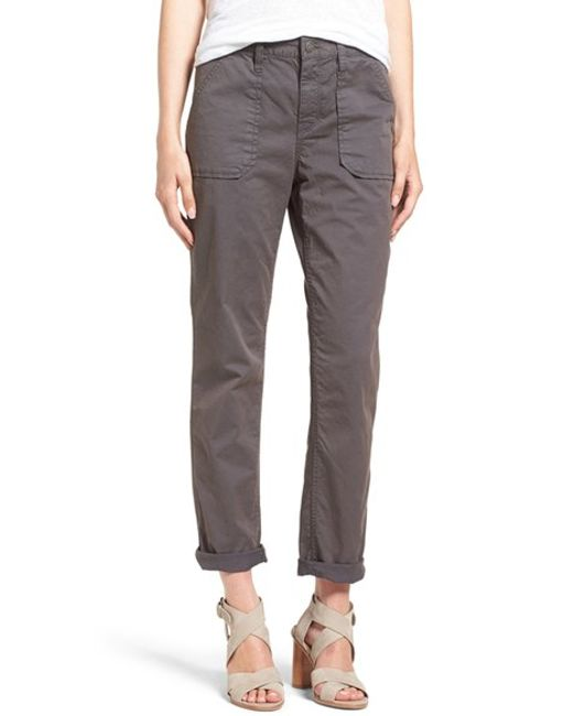 Amazing Nsf Clothing Women39s Johnny Cargo Pants In Gray Grey  Lyst