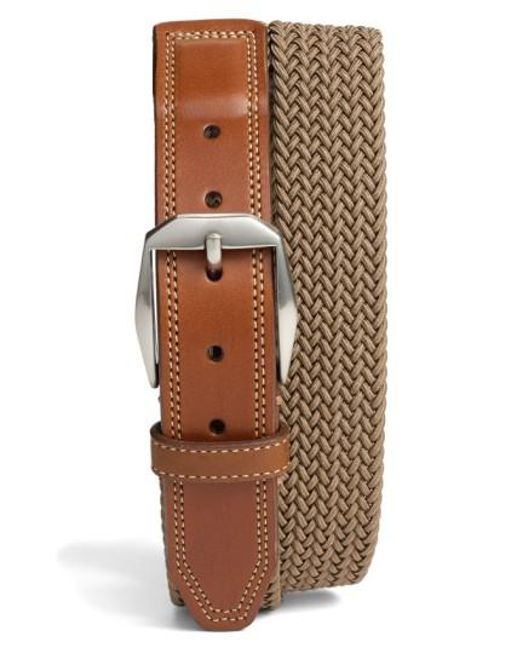 Martin Dingman | Brown 'beck' Stretch Belt for Men | Lyst