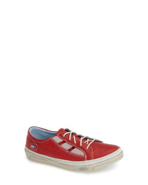 Cloud | Red 'amazonas' Leather Sneaker | Lyst