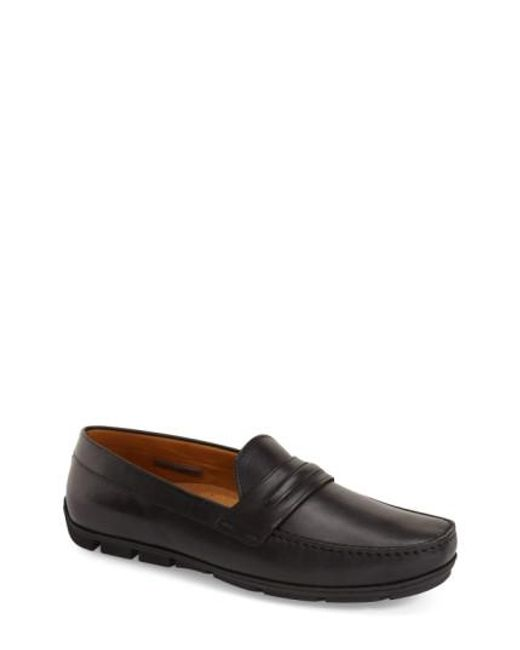 Vince Camuto | Black 'donte' Driving Shoe for Men | Lyst