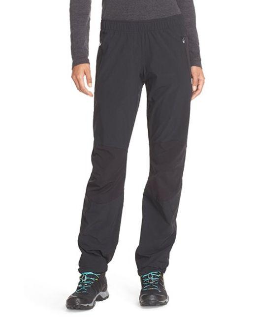 Adidas 'terrex' Water Repellent Pants in Black for Men ...