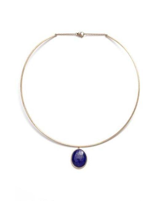 Marco Bicego   Black 'lunaria' Lapis Collar Necklace   Lyst