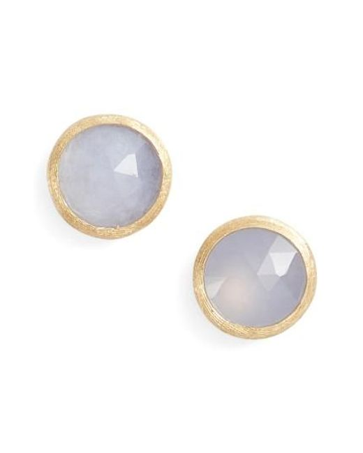 Marco Bicego | Multicolor 'jaipur' Stone Stud Earrings | Lyst
