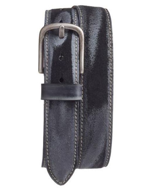 Torino Leather Company | Gray Leather Belt for Men | Lyst