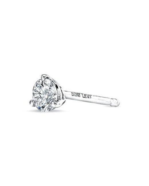 Bony Levy | Metallic Single Diamond Stud Earring (nordstrom Exclusive) | Lyst