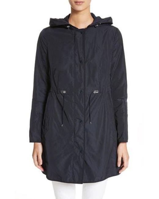 Moncler - Black Anthemis Rain Coat - Lyst