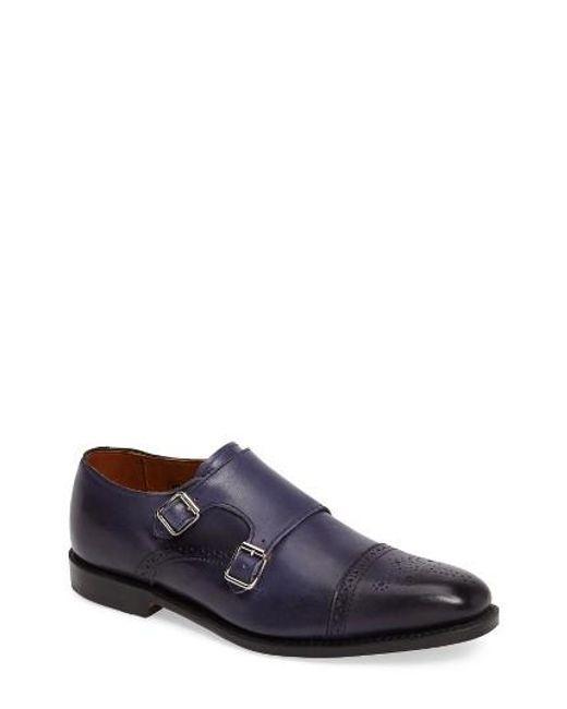 Allen Edmonds | Brown 'st. Johns' Double Monk Strap Shoe for Men | Lyst