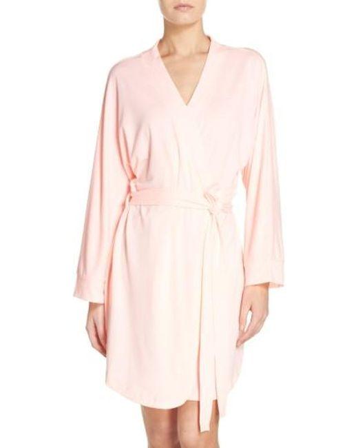 Honeydew Intimates | Pink Jersey Robe | Lyst