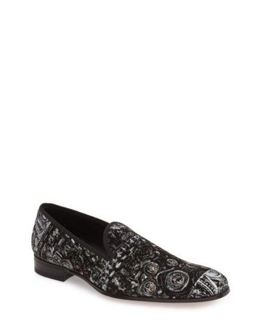 Mezlan   Black 'leno' Venetian Loafer for Men   Lyst