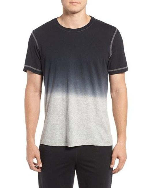 Daniel Buchler | Black Ombre Peruvian Pima Cotton T-shirt for Men | Lyst