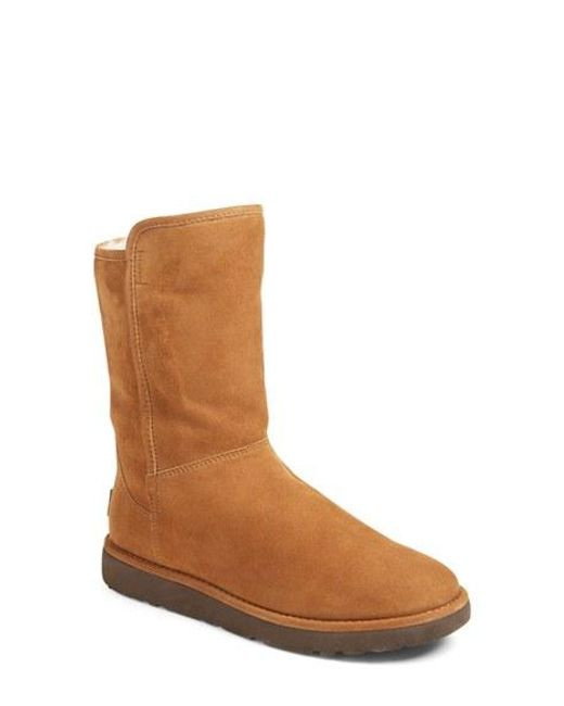 Ugg | Brown Ugg Abree Ii Short Boot | Lyst