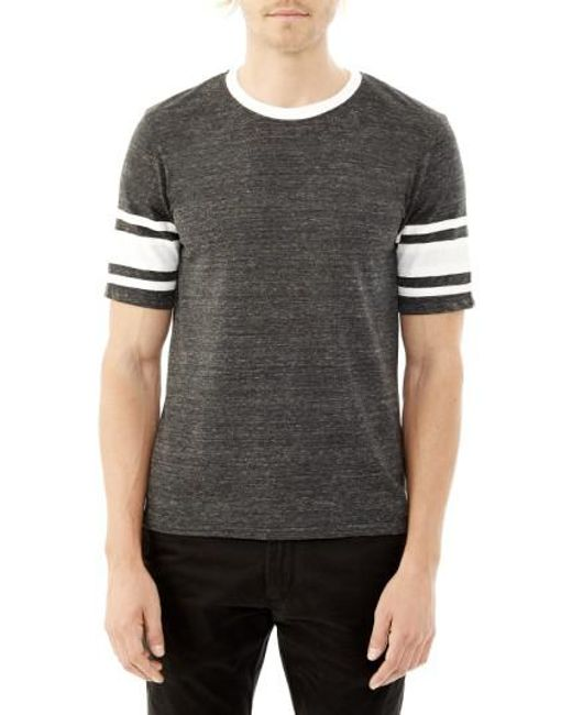 Alternative Apparel   Black 'touchdown' Football T-shirt for Men   Lyst