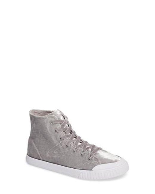 Tretorn | Metallic Marley 2 High Top Sneaker | Lyst