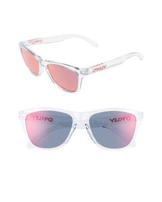 Oakley | Red Frogskins 55mm Sunglasses | Lyst
