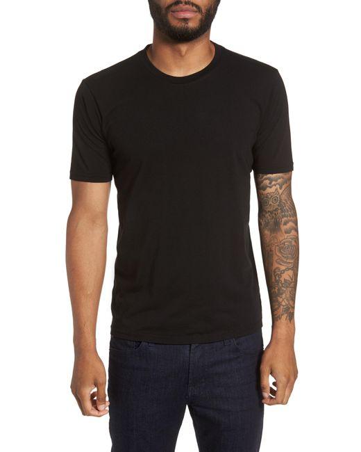 Goodlife - Black Supima Cotton Blend Crewneck T-shirt for Men - Lyst