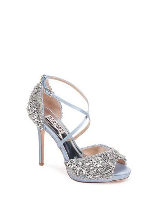 Badgley Mischka Women's Hyper Crystal Embellished Sandal NVNHyfOPp