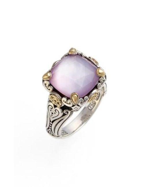 Konstantino | Metallic 'iliada' Doublet Ring | Lyst