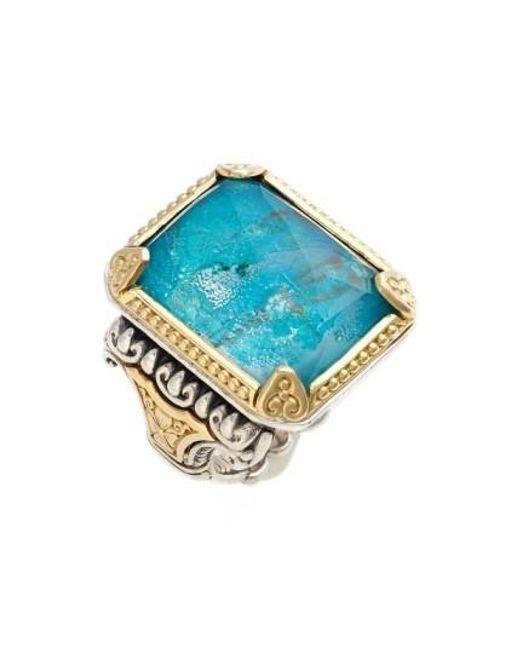 Konstantino   Blue 'iliada' Semiprecious Ring   Lyst