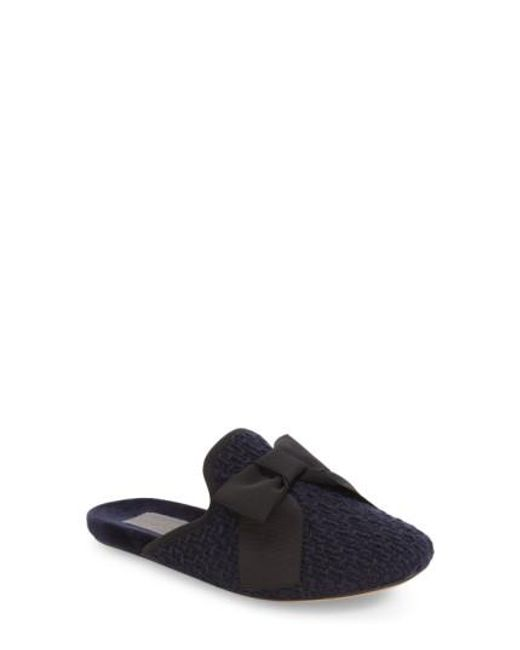 Daniel Green | Blue Olive Scuff Slipper | Lyst