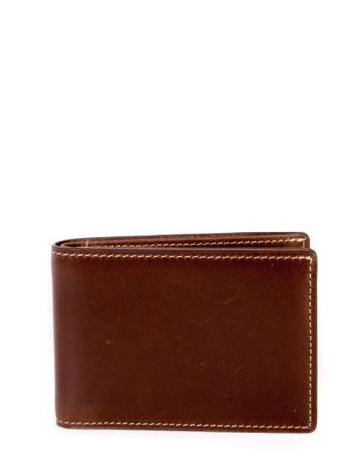 Boconi | Brown 'bryant' Leather Rfid Wallet for Men | Lyst