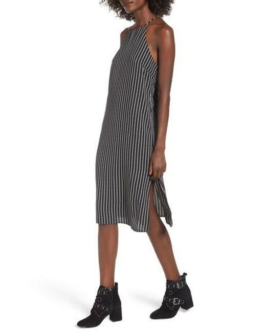 Soprano | Black High Neck Shift Dress | Lyst