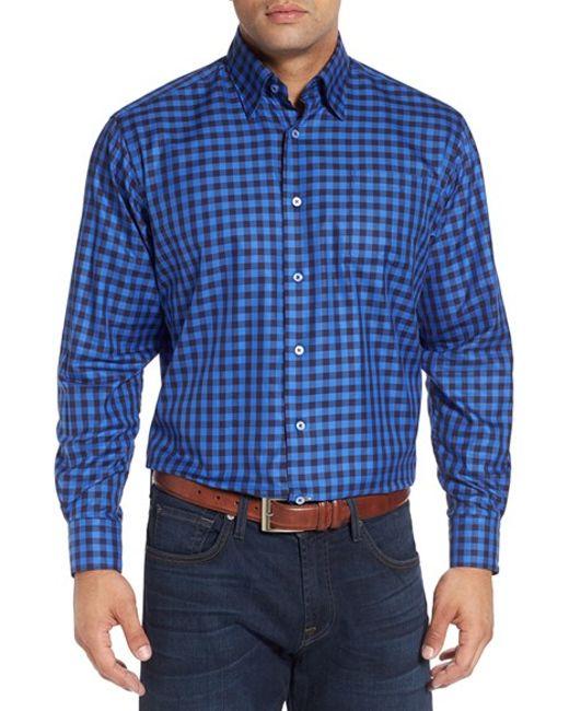 Robert talbott 39 anderson 39 classic fit gingham sport shirt for Robert talbott shirts sale