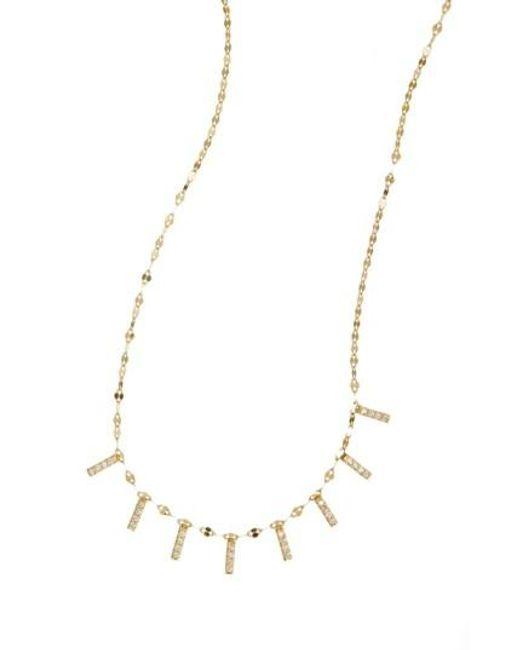 Lana Jewelry | Metallic 'flawless' Mini Bar Collar Necklace | Lyst