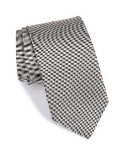 John W. Nordstrom | Black John W. Nordstrom 'ryder' Silk Tie for Men | Lyst