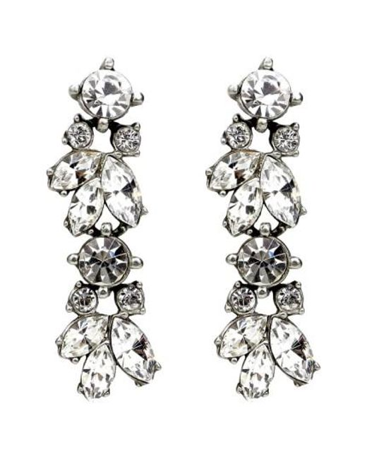 Ben-Amun | Metallic 'crystal Vine' Drop Earrings | Lyst