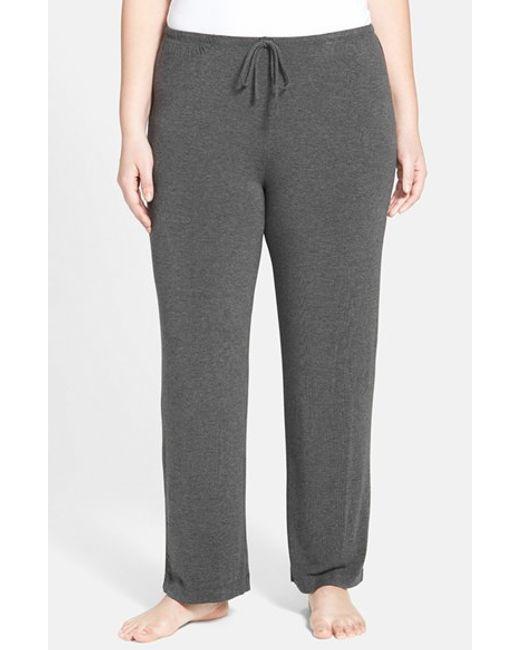DKNY | Gray 'urban Essentials' Pants | Lyst