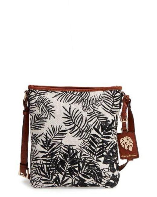 Tommy Bahama | Black Palm Beach Crossbody Bag | Lyst