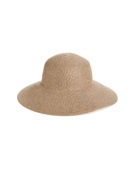 Eric Javits | Brown 'hampton' Straw Sun Hat | Lyst